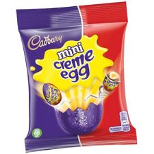 Cadbury Mini creme egg Easter Eggs chocolate pack treats miniature kids Biscuit