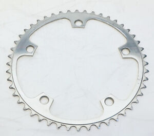 Campagnolo Record Road Chainring 144BCD 48T Silver Vintage Preowned