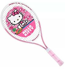 "Hello Kitty Junior Tennis Racquet 25"" Kid Children Girl Sports Sanrio Racket"