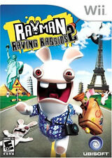 Rayman Raving Rabbids 2 WII New Nintendo Wii