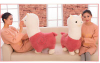 65CM Big Plush Alpaca Cute Giant Large Stuffed Soft Plush Toy Doll Pillow Gift