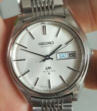 VERY NICE VINTAGE SEIKO LORD MATIC 23JEWELS AUTOMATIC MENS WATCH SERIAL 494434