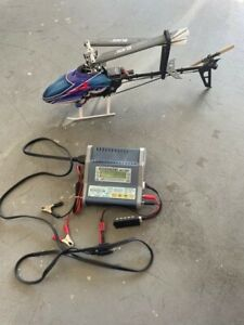 Blade 300CFX Helicopter and Hyperion charger