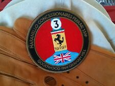 Ferrari patch 330P Graham Hill badge emblem crest logo 308 328 348 F355 360 430
