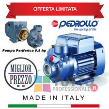 Pompa pkm60 periferica a motore PEDROLLO 0.5 Hp cavalli monofase autoclave acqua