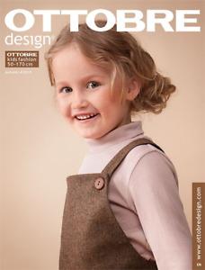 Ottobre Design magazine Fall 2019 -  issue 4/2019 - FREE domestic shipping