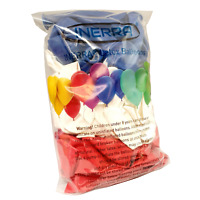 """Large 30cm / 12"""" Street Party Balloons - Multipack - Red, White & Royal Blue"""