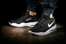 Nike Men Sz 10.5 Air Force Max Low BV0651-001 Black/White  Basketball Shoe nwbox