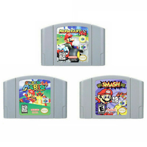 For Nintendo Mario Kart 64 Super Mario 64 Super Smash Bros. Video Game Cartridge