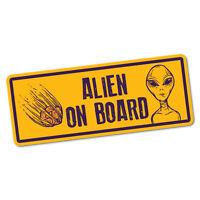 Alien On Board Sticker Decal Car Vinyl Sign Window Cute #6330EN