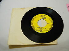 THE PARADONS I WANT LOVE / DIANONDS & PEARLS 45 RPM RECORD M-