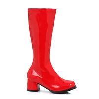 Ellie 175-DORA Red Superhero Hippie Children's Halloween Costume Gogo Knee Boot