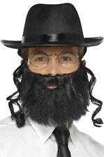 Mens Ladies Instant Rabbi Religious Jew TV Film Fancy Dress Costume Outfit Kit