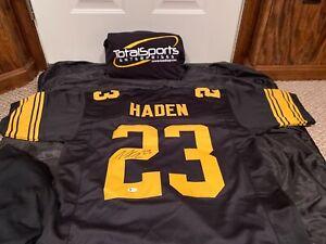 Joe Haden Autographed Signed Pro Style Alternate XL Jersey BAS WE17081