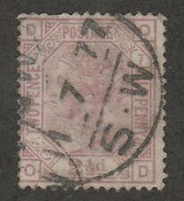 KAPPYS 120817-05 GREAT BRITAIN VICTORIA SC# 67 USED P #7 CIRCULAR DATED CANCEL