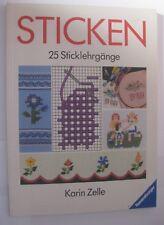 Sticken  25 Sticklehrgänge ~ Karin Zelle
