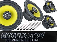 Ground Zero VW Vento Jetta 1992-1998 Lautsprecher 3 Wege Komplett Set Tür 3 Ohm