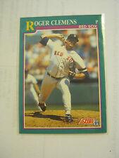 1991 Score #655 Roger Clemens Baseball Card, Very Good Condition (MC-bb3)