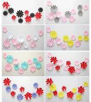 12 pcs 3D fleurs Stickers muraux fleurs décoration maison, chambre enfant