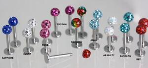 Glitter Ball STUDS + Free Vevet pouch    Comfortable flat back post        PAIRS