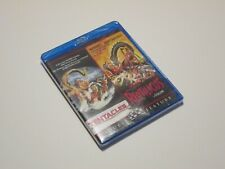Tentacles / Reptilicus Blu-Ray Double Feature Rare Oop Scream Factory