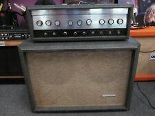 VINTAGE SILVERTONE 1484 SEARS 2x12 TUBE AMP PIGGY BACK 1967