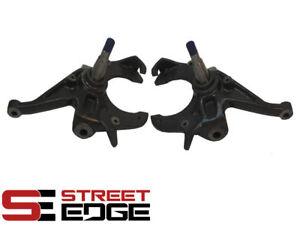 "Street Edge 2"" Drop Spindles for 78-87 Oldsmobile Cutlass V8 G-body - Pair"