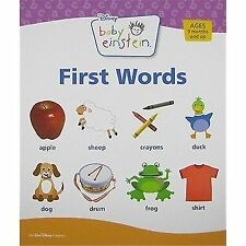First Words by Disney Book Group Staff and Julie Aigner-Clark (2008, Board Book)