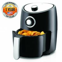 Nutrichef PKAIRFR18 Air Fryer Oven 2 Quart - 1000w, Large Capacity, With Basket