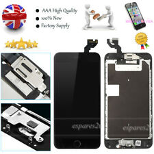 For iPhone 6S Plus Black LCD Touch Screen Digitizer Replacement +Button +Camera