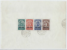 1933 Germany B58 MI Block 2 - Semi-Postal of 1924 Nothilfe SS - Postally Used*