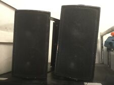 Pair EAW JF60S Acoustic Black Speakers with brackets Free Shipping