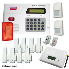 Alarmanlage Set Funk Alarm System mit GSM -Wählgerät Alarmsystem mit Telefon
