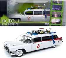 Ghostbusters Ecto-1 1959 Cadillac Ambulance in 1:18 Auto World ERTL AWSS118