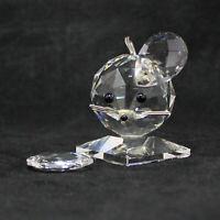 1997 Swarovski Crystal Figurine Mouse Large - USA 7631NR50 AS IS CF01148