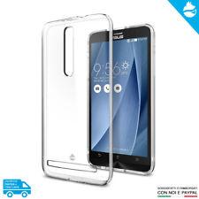 "Case Cover Custodia Trasparente Morbida Asus Zenfone 2 5.5"" Deluxe ZE551ML 550ML"