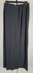 Victoria's Secret Women's Small Supermodel Essential Stretch Maxi Black Skirt