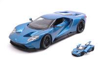 Ford Gt 2017 Metallic Blue 1:24 Model 24082BL WELLY