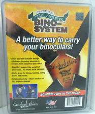 Crooked Horn Slide & Flex Bino System Black Elastic Body Harness Binocular Strap