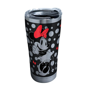 Disney Silver Minnie 20 oz. Stainless Steel Tumbler with Lid