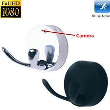 Mini 1080P HD Spy DVR Hidden Wall Hook Camera Motion Detection Videorecorder Cam