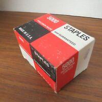 """+ Genuine 5000 Staples AA-2670, Type II Size 7.5"""""""