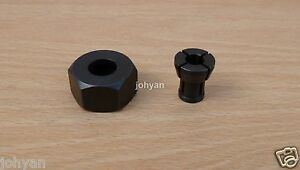 MAKITA COLLET NUT & 6.35mm COLLET FIT 3620 RP0900 RT0700C ROUTER RPO900 RTO700C