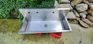Elkay SINK EWMA 48204 COMPLETE WITH FAUCETS,SUPPLIES, DRAINS