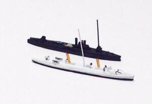 Hai 876 US Torpedo Boats Ericsson & Dahlgren 1900 1/1250 Scale Model Ship