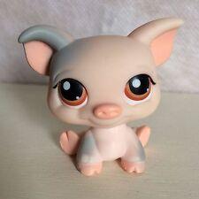 Littlest Pet Shop LITTLE PIGGY 259 PINK & GRAY Pig 6 pictures - USA seller