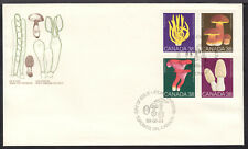 CANADA #1248a 38c SE-TENANT BLOCK/4 on 1989 FIRST DAY COVER