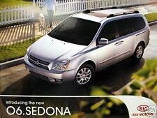 2006 Kia Sedona minivan new vehicle brochure