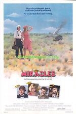 MIRACLES MOVIE POSTER 1986 TERI GARR FILM