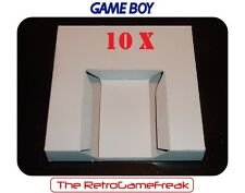■■■ Gameboy Classic / GB : 10 x Inlay / Inserts for GB Boxes / Games - Carton ■■
